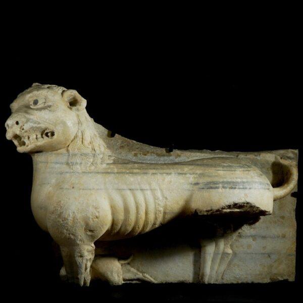 Monumental Lion Statue