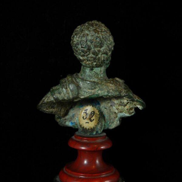 Bust of Clodius Albinus Back