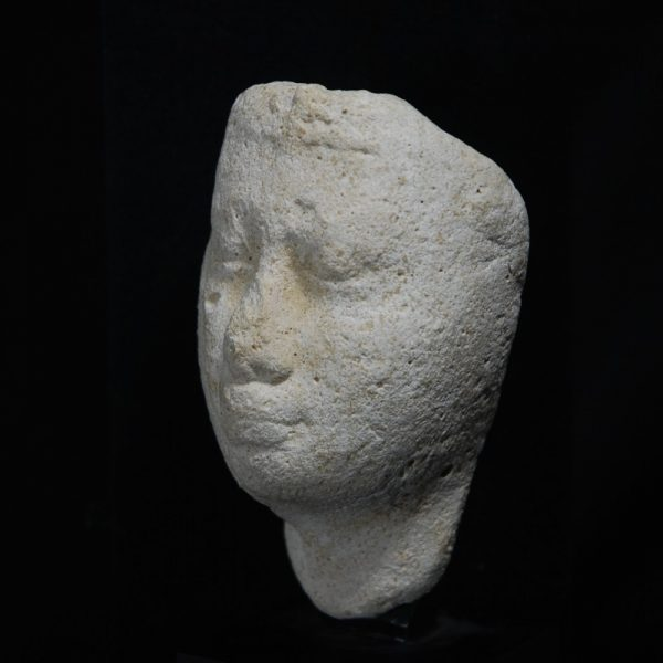 Egyptian Limestone Head Sculptor's Model