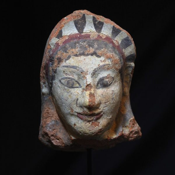 Etruscan Antefix of a Maenad