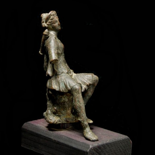 Bronze Statuette of Artmis back