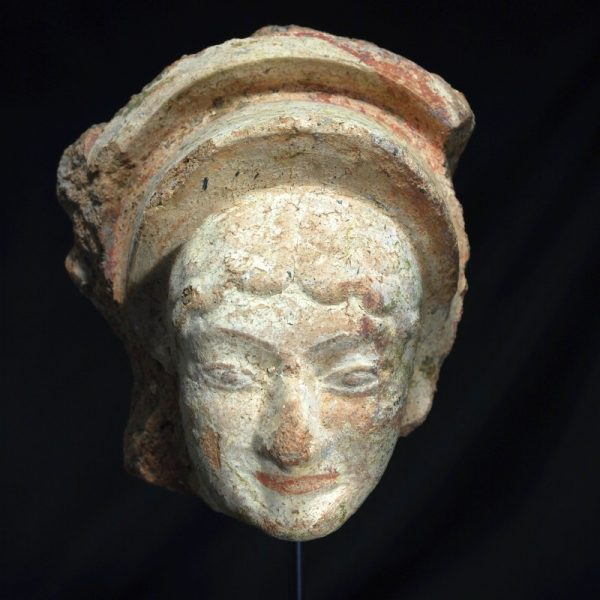 Etruscan Antefix of a Maenad