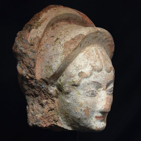 Etruscan Antefix of a Maenad side