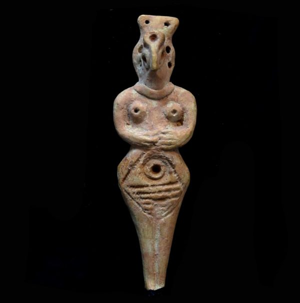 Syro-Hittite Idol of a Female Deity