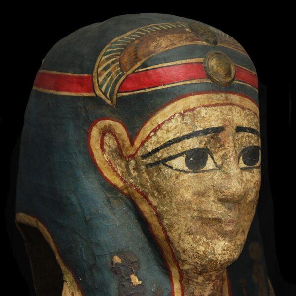Egyptian Mummy Mask Close