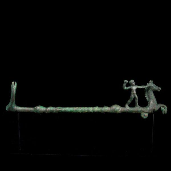 Bronze Poseidon Hippocampus and Cetus