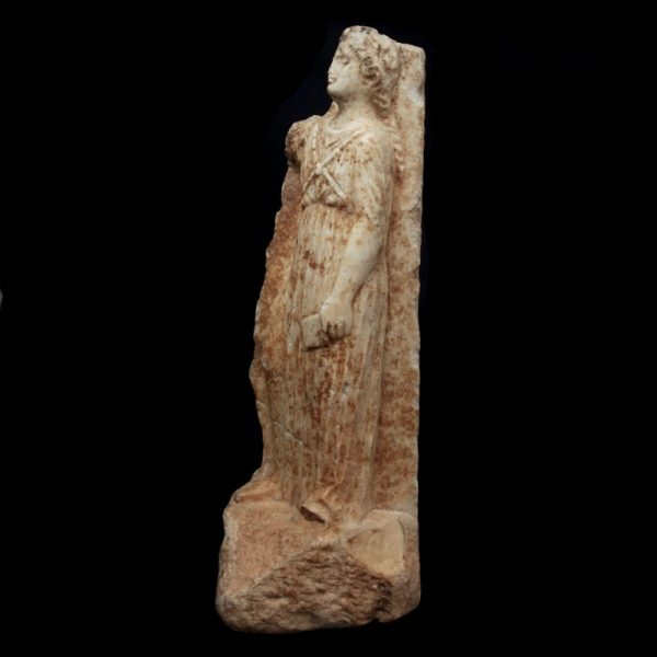 Fragment of a Hellenistic Funerary Stele