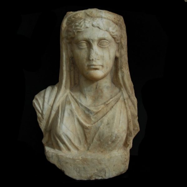 Marble bust of Demeter