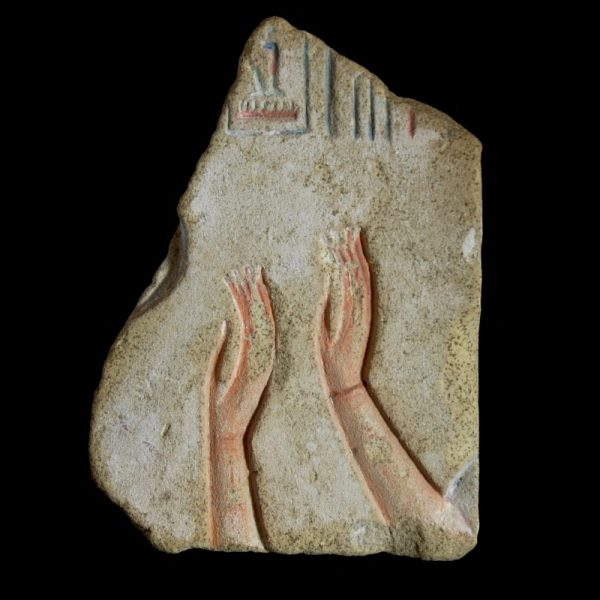 Limestone Relief with the Cartouche of Seti I.