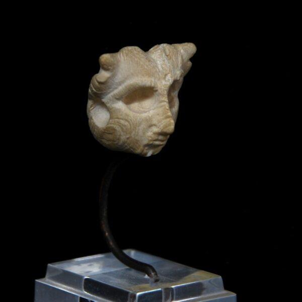 Sumerian Shell Head Side