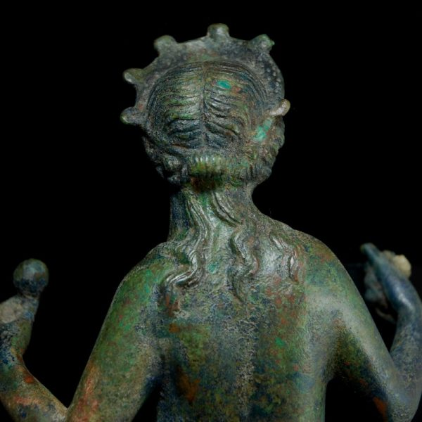Roman Bronze Statue of Venus Back