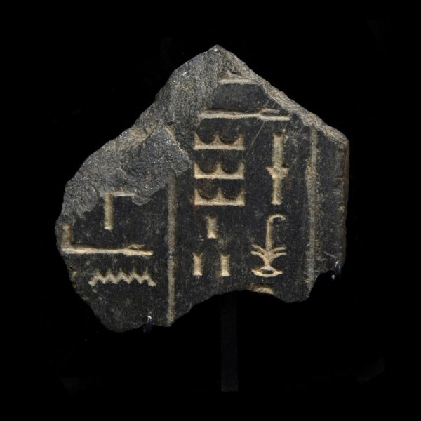 Egyptian Diorite Statue Fragment