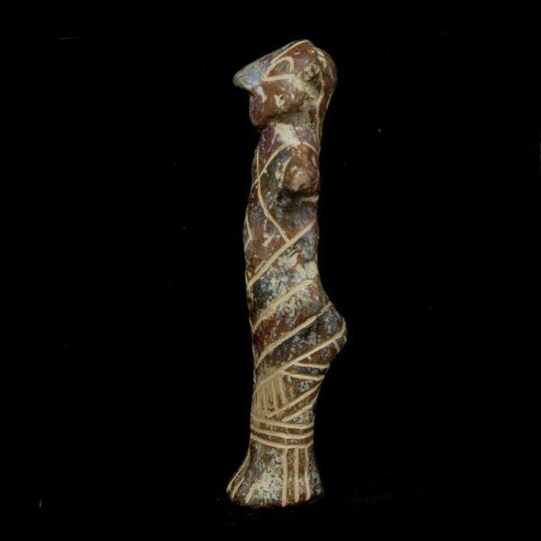 Vinca Terracotta Figure Side
