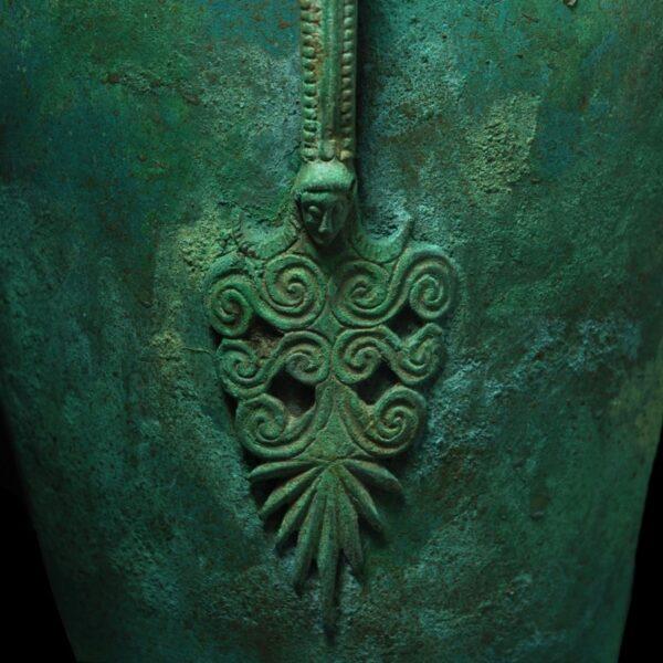 Etruscan Schnabelkanne Detail