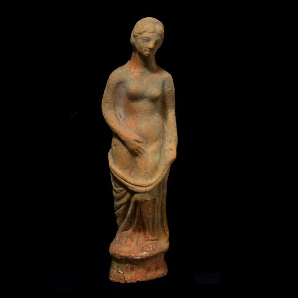 Greek Terracotta Statuette of Aphrodite