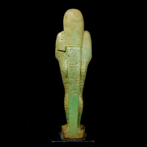 Faience Shabti for General Pasherientaihet Back