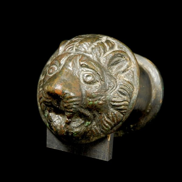 Bronze Lionhead Protome