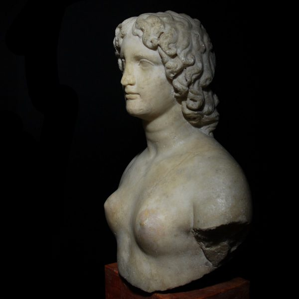 Roman Marble Bust of Alexander the Great