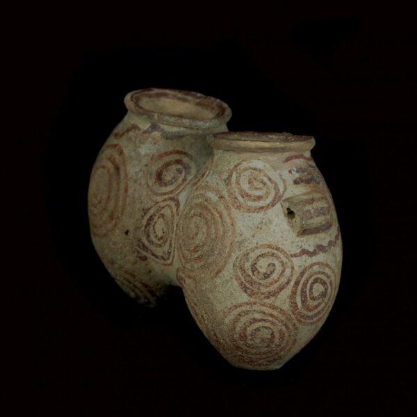 Naqada II Pre-Dynastic Conjoined Jars
