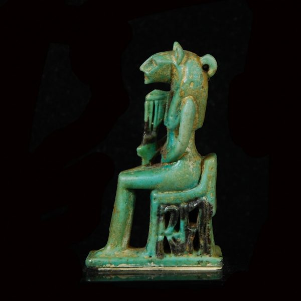 Faience Amulet of Sekhmet