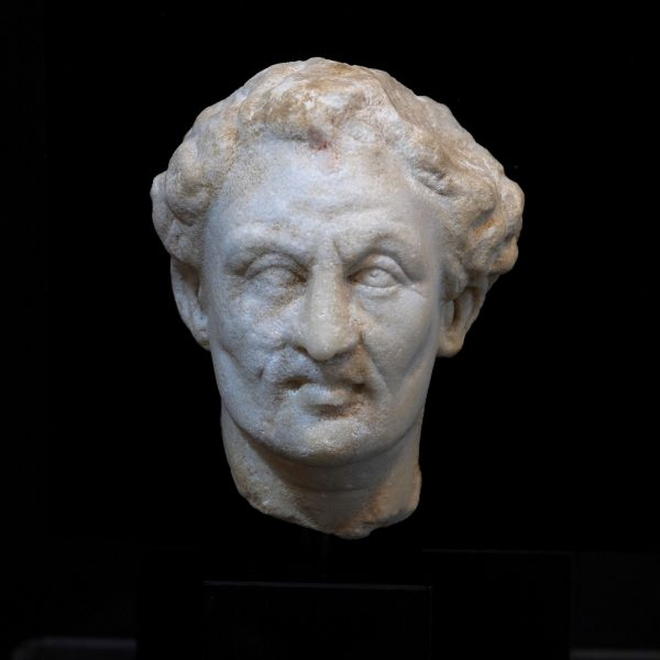 Roman Marble Head of a Noble