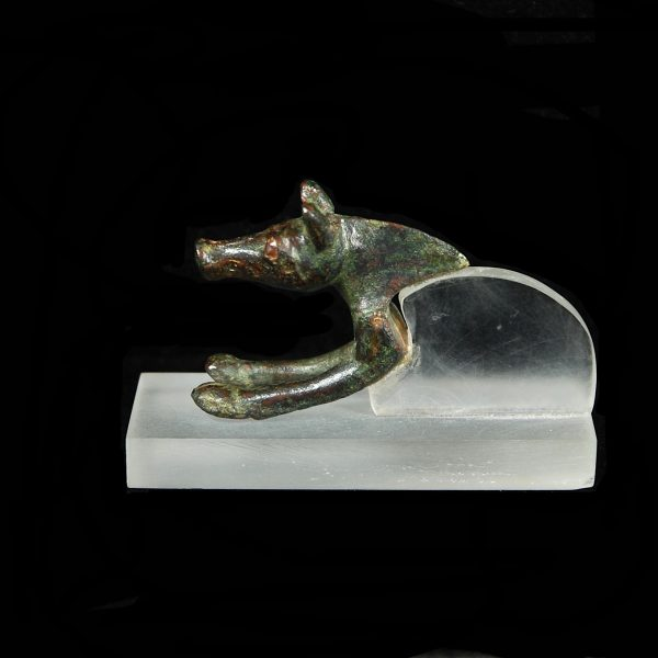 Celtic Bronze Boar Protome
