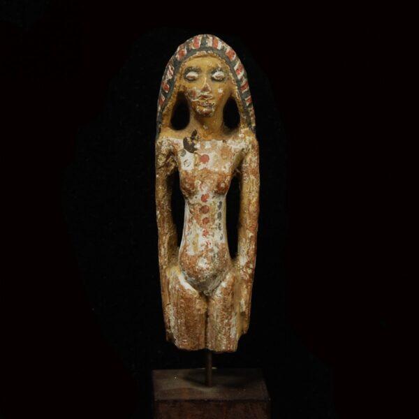 Egyptian Terracotta Figure of a Concubine