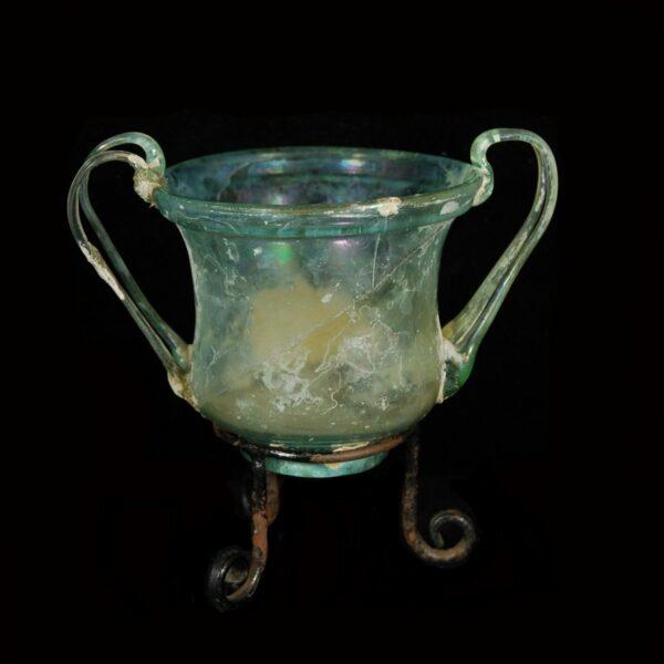 Roman Glass Kantharos