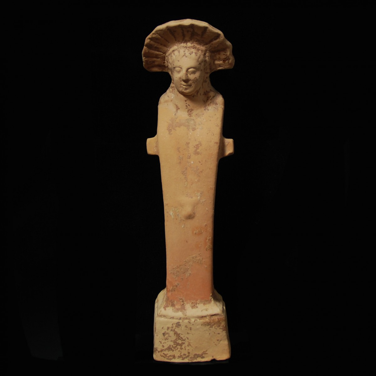 Hellenistic terracotta herm