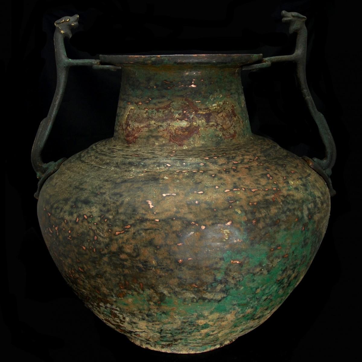 Byzantine Bronze Amphora