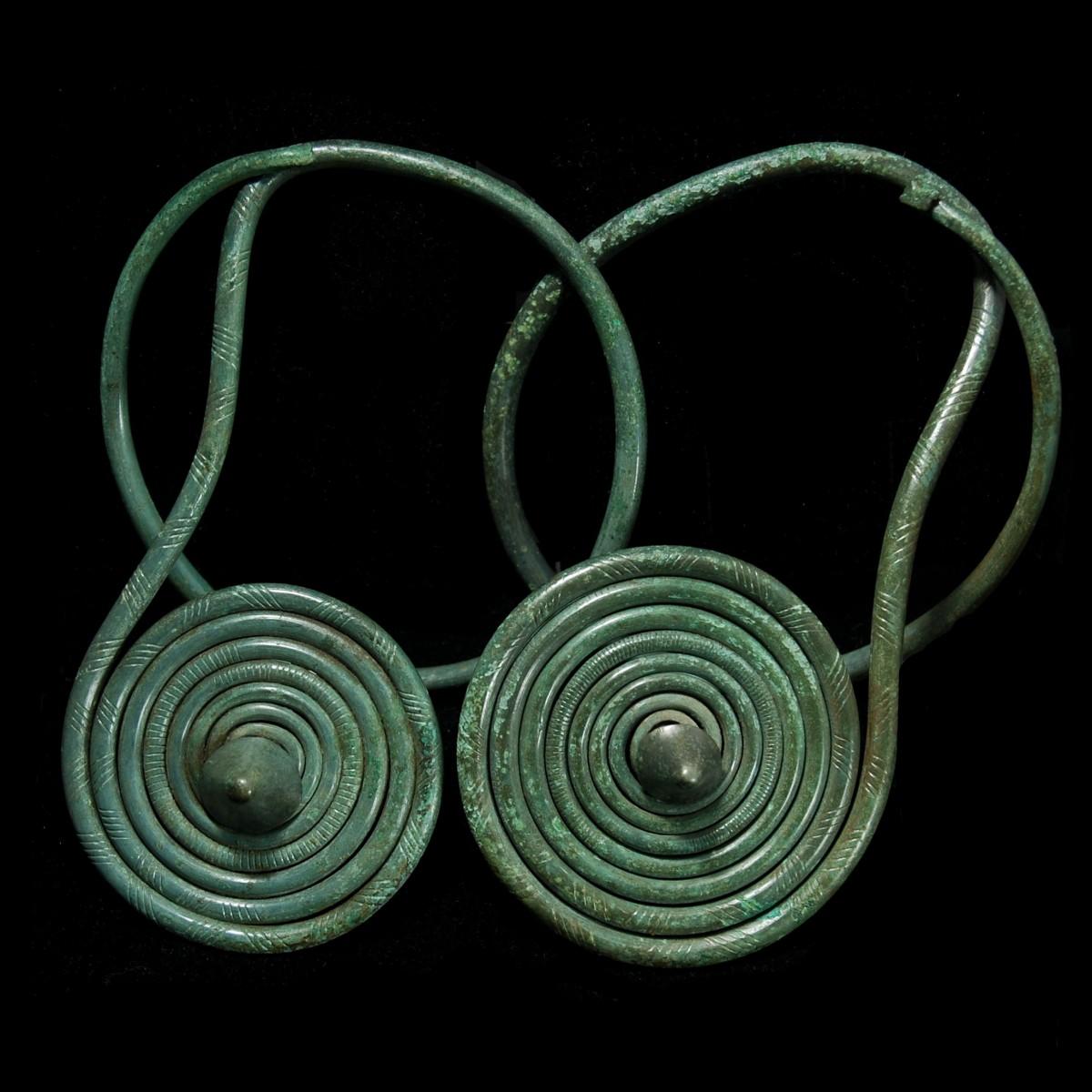 Bronze age pair of Arm Spirals