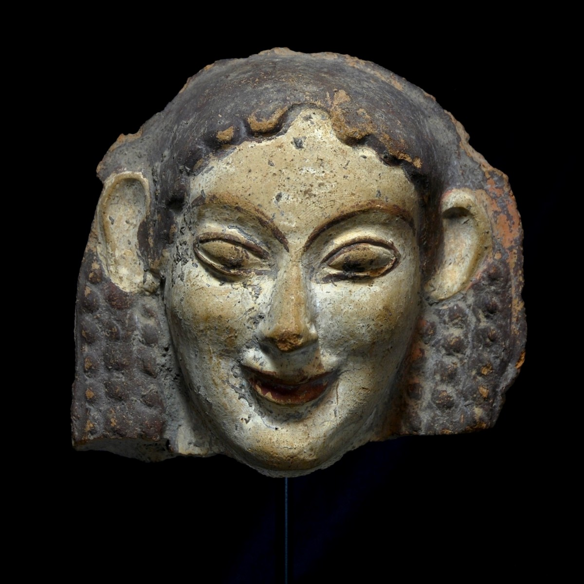Etruscan archaic antefix front
