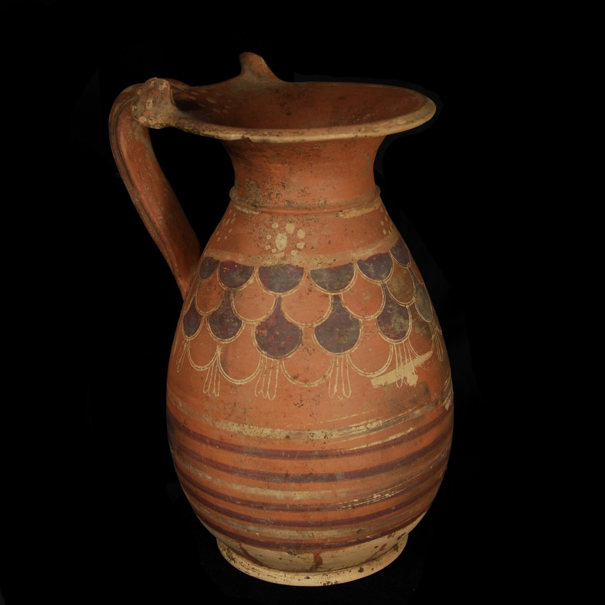 Etrusco-corinthian olpe