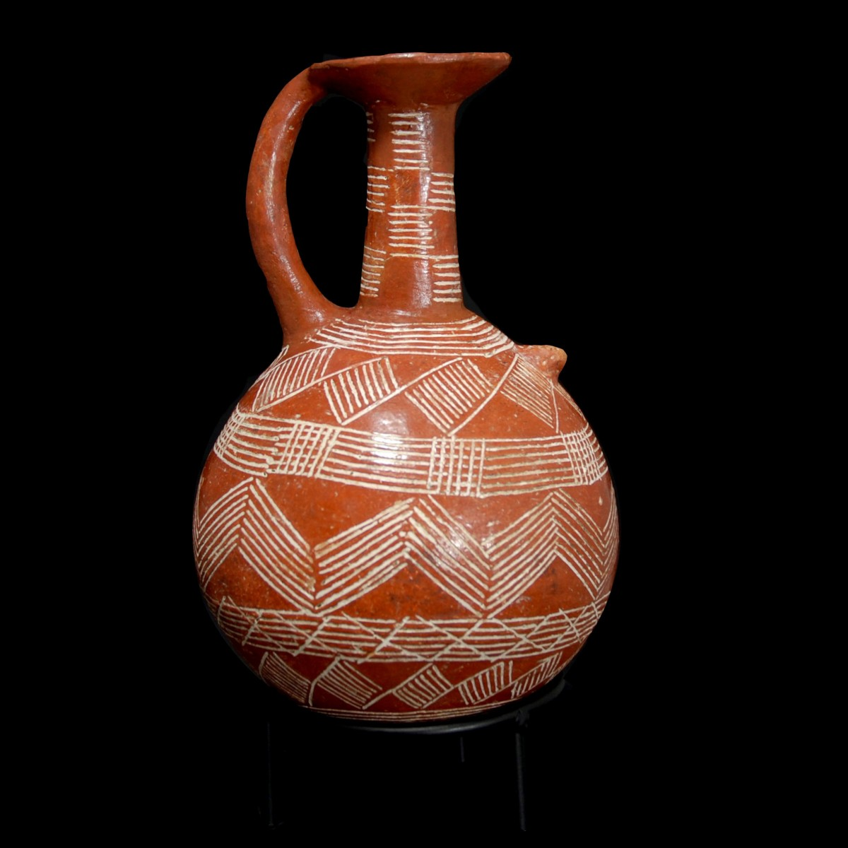 Cypriot jug of the red-polished ware