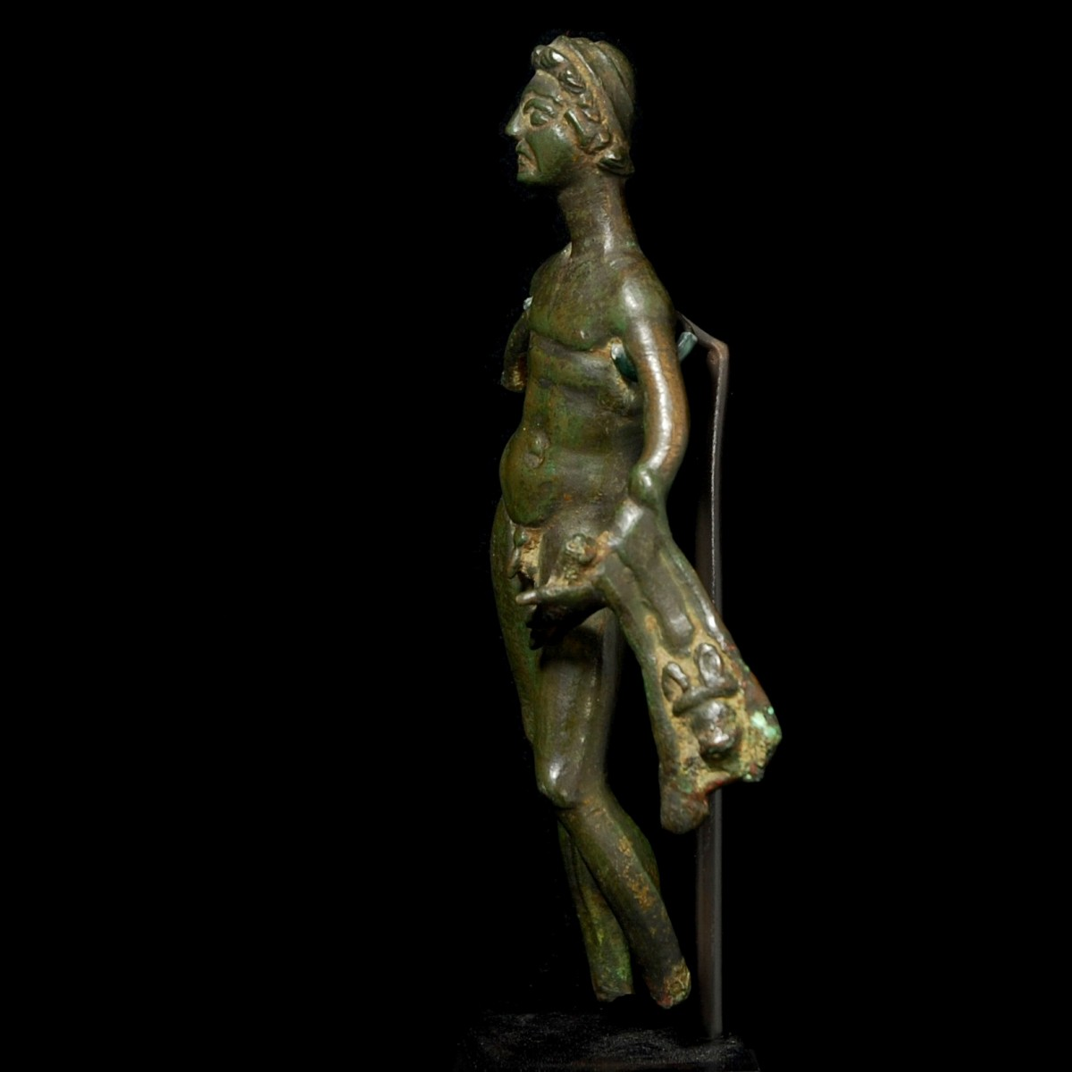 Etruscan Bronze Herakles left
