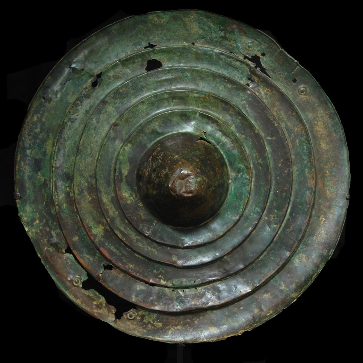 Luristan bronze shield