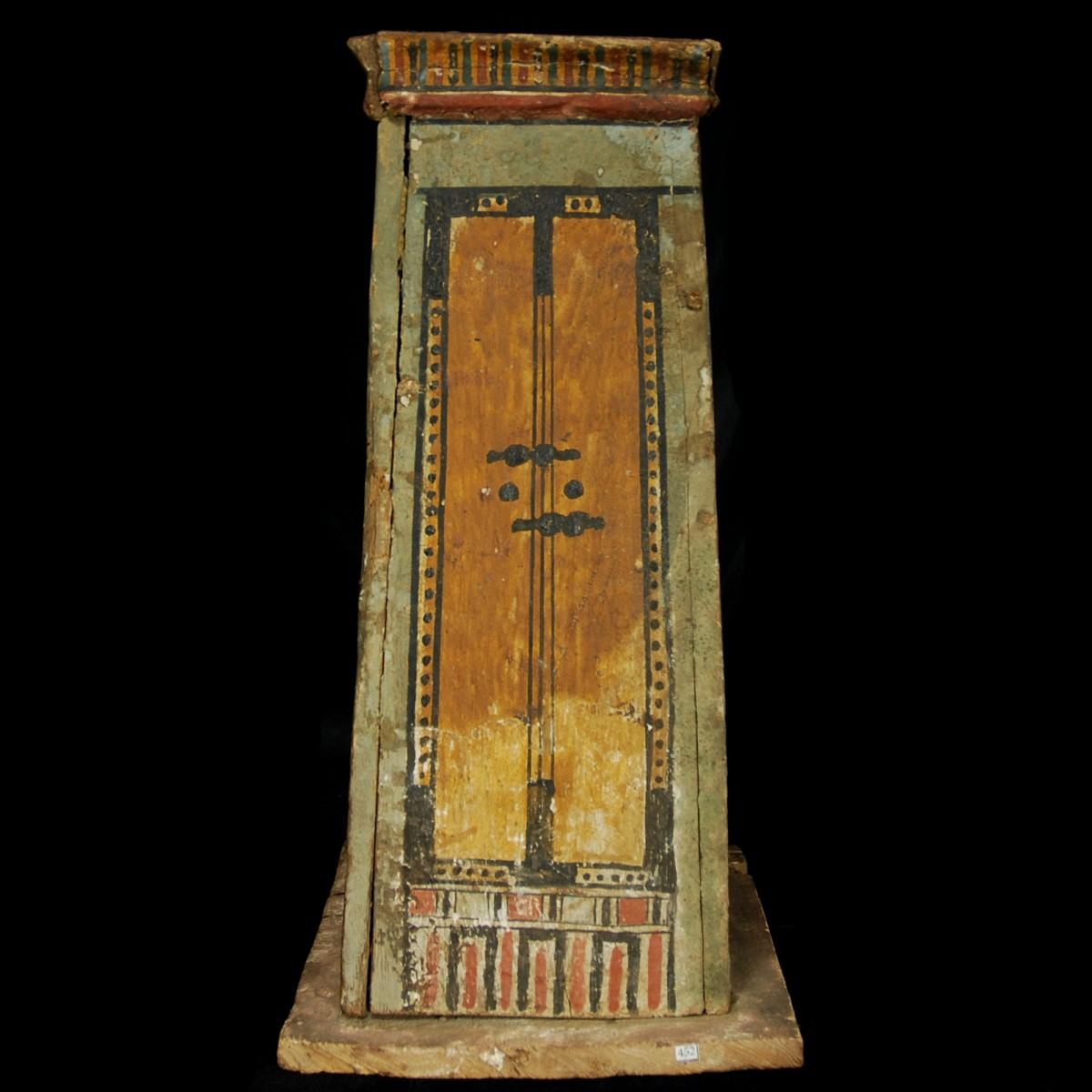 Ptolemaic canopic chest door