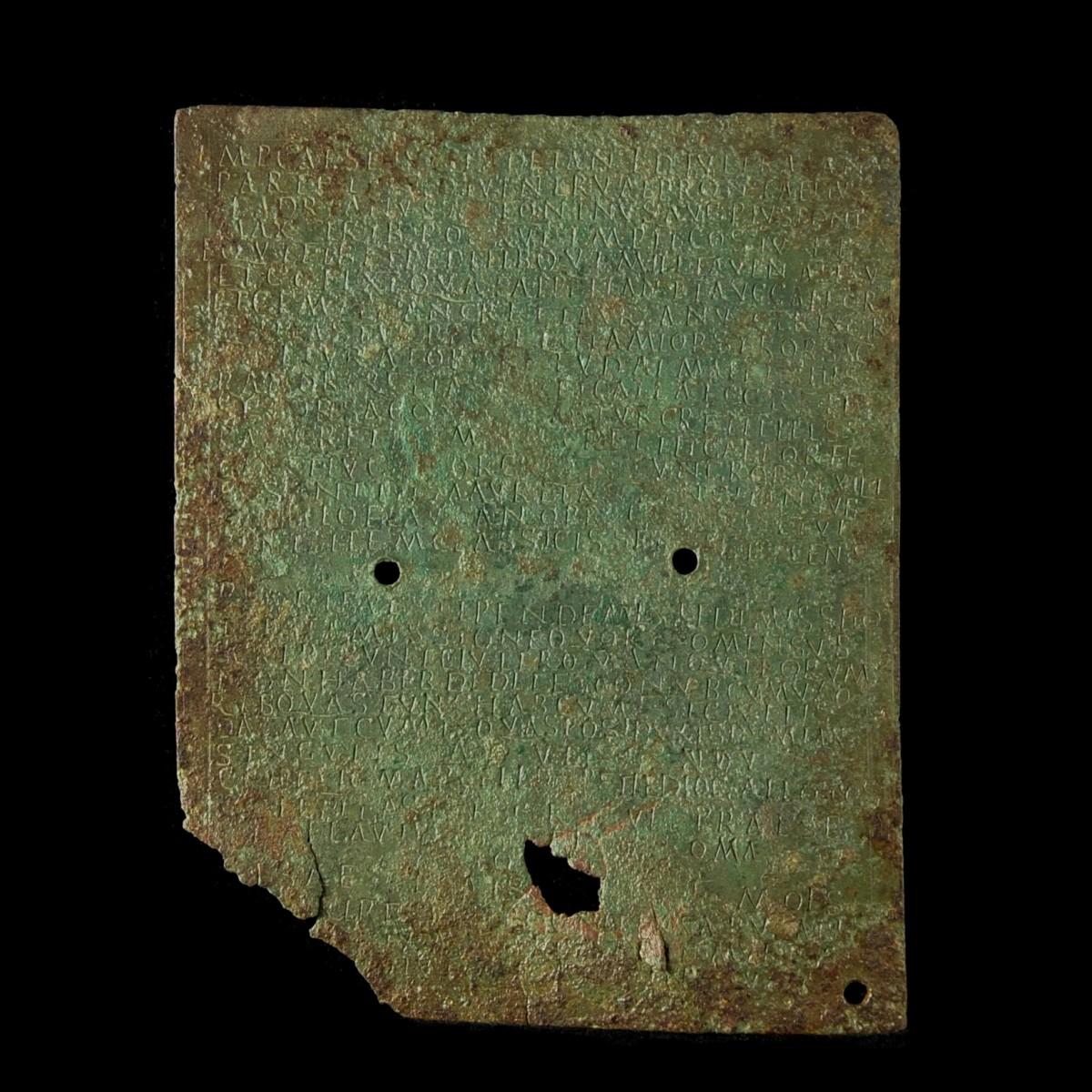 Roman military diploma from Mauretania Tingitana