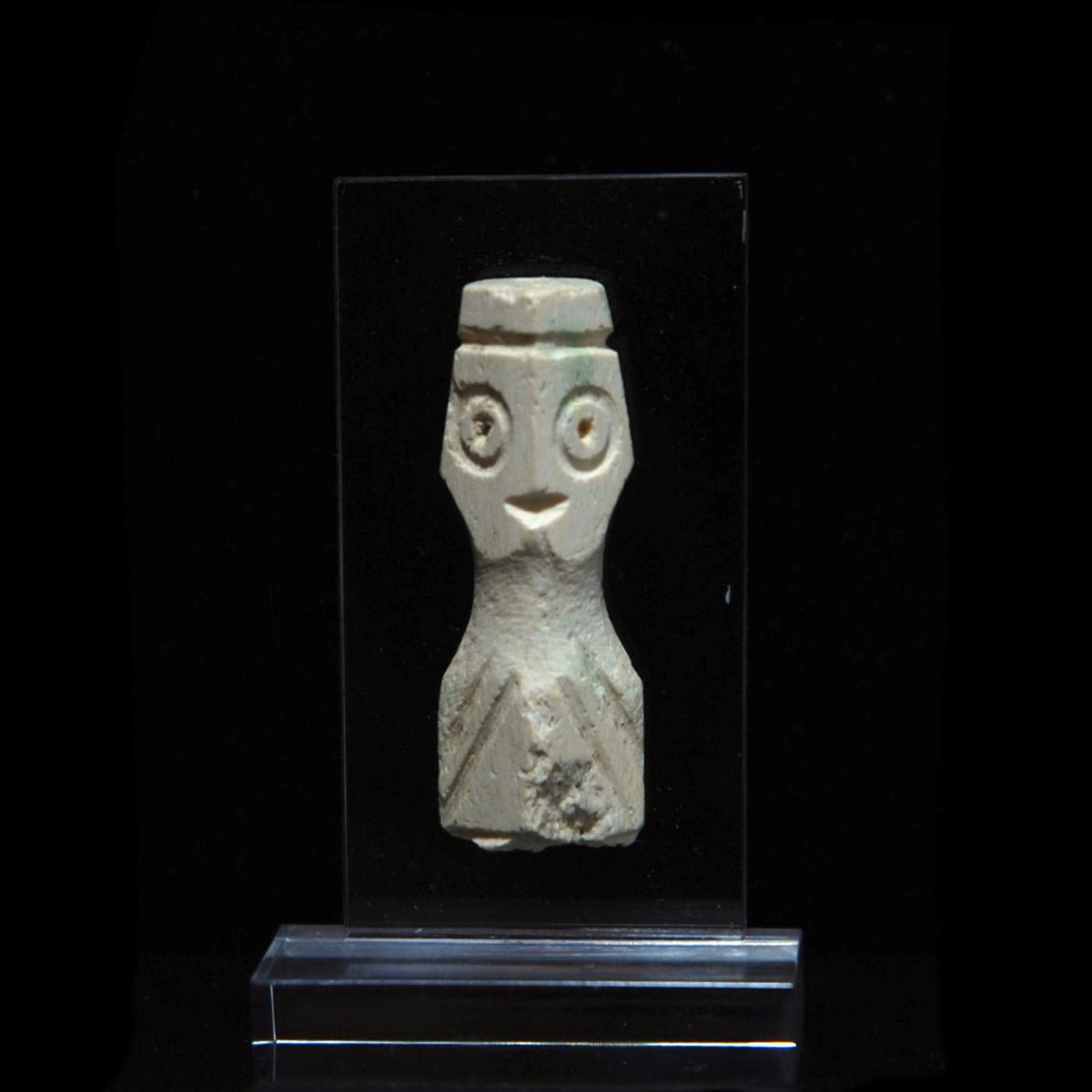 Coptic bone idol fragment