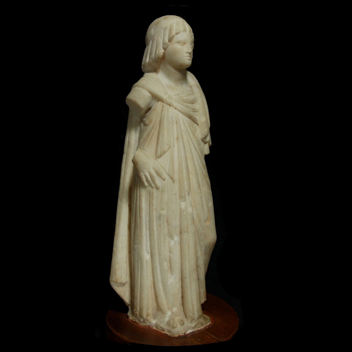Marble statue of a ptolemaic princess right