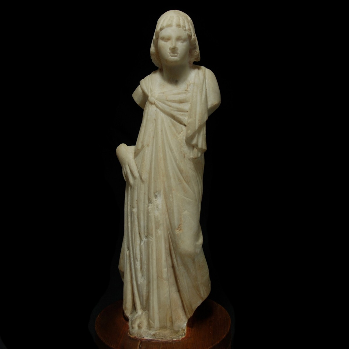 Marble statue of a ptolemaic princess