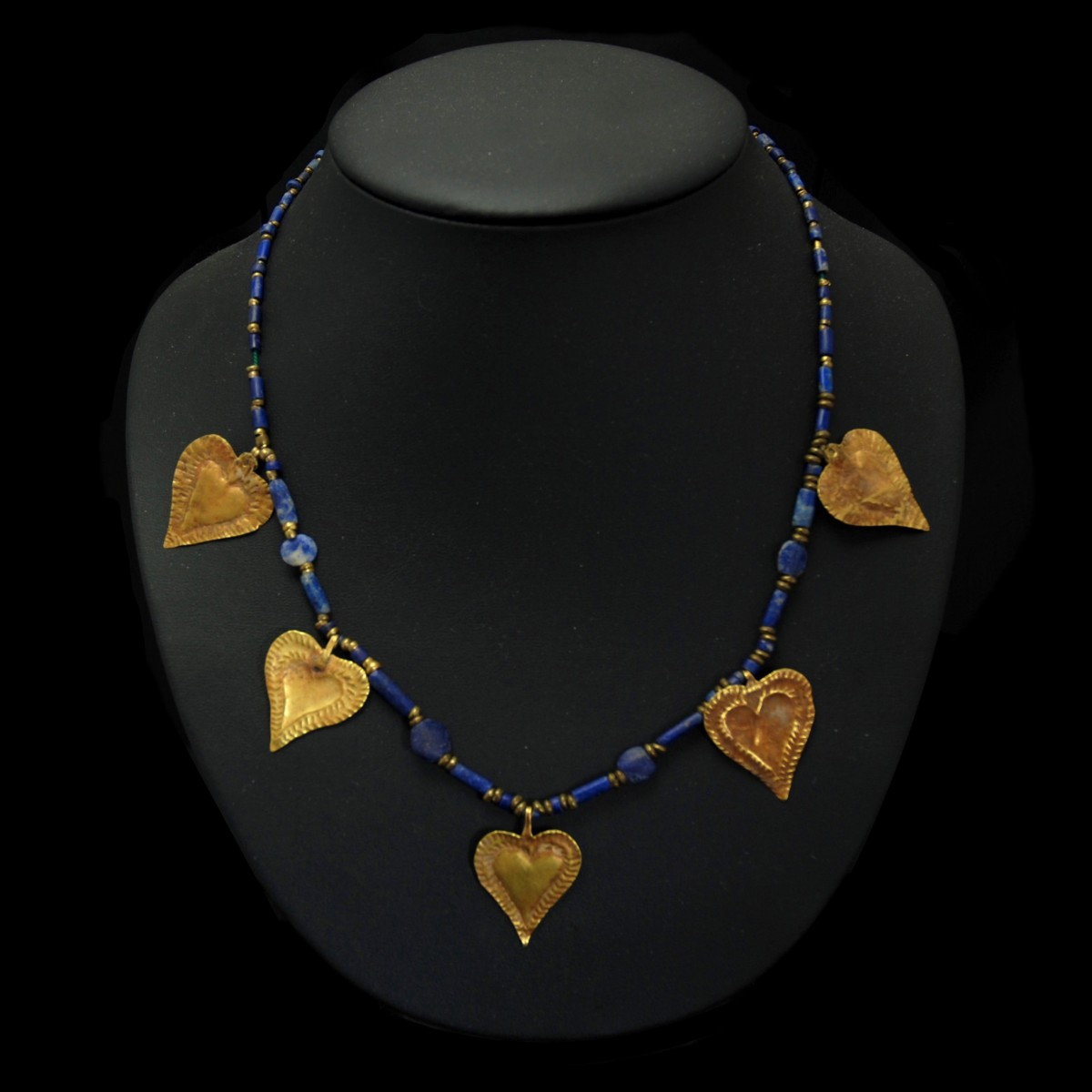 Sumerian gold necklace
