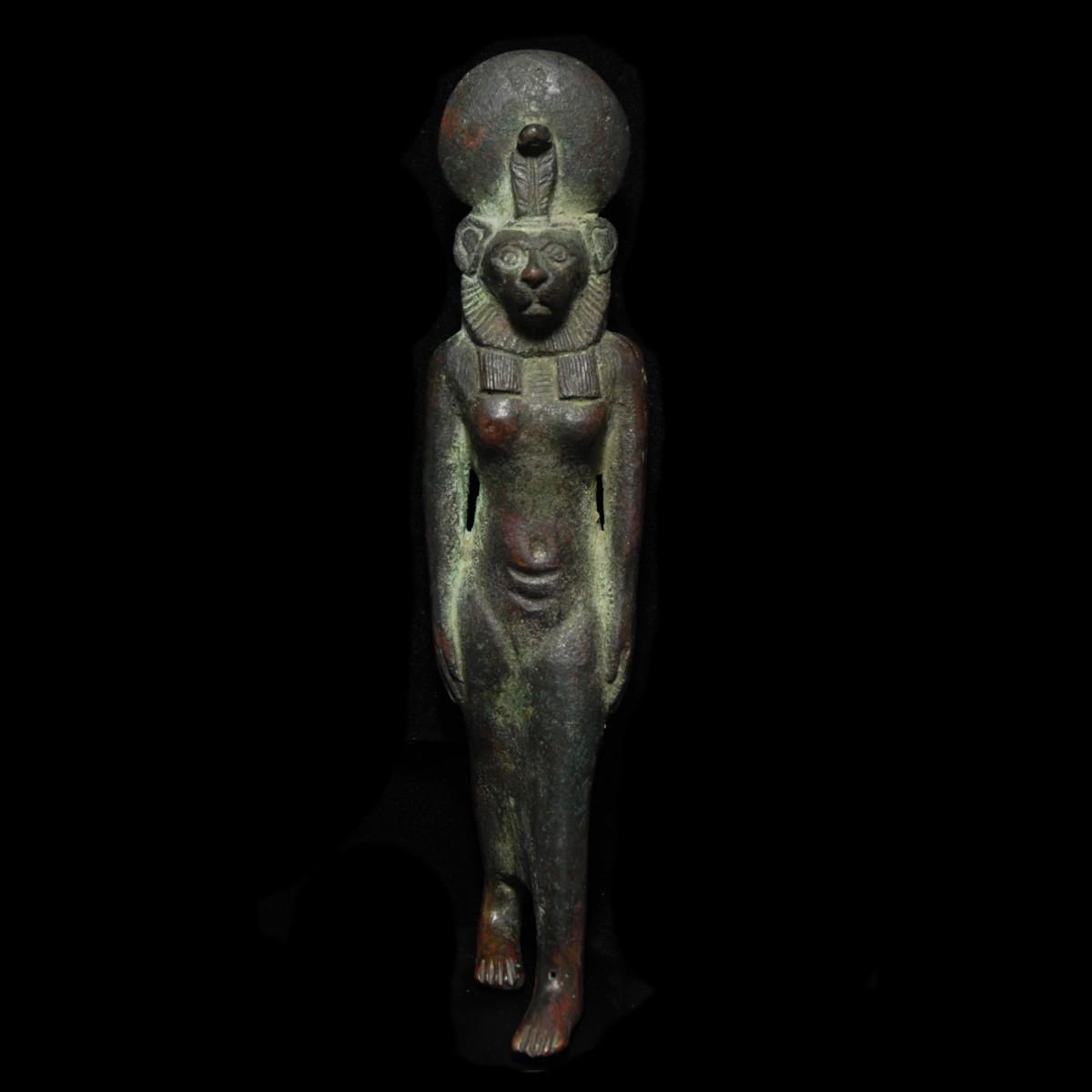 Egyptian Bronze statuette of Sekhmet