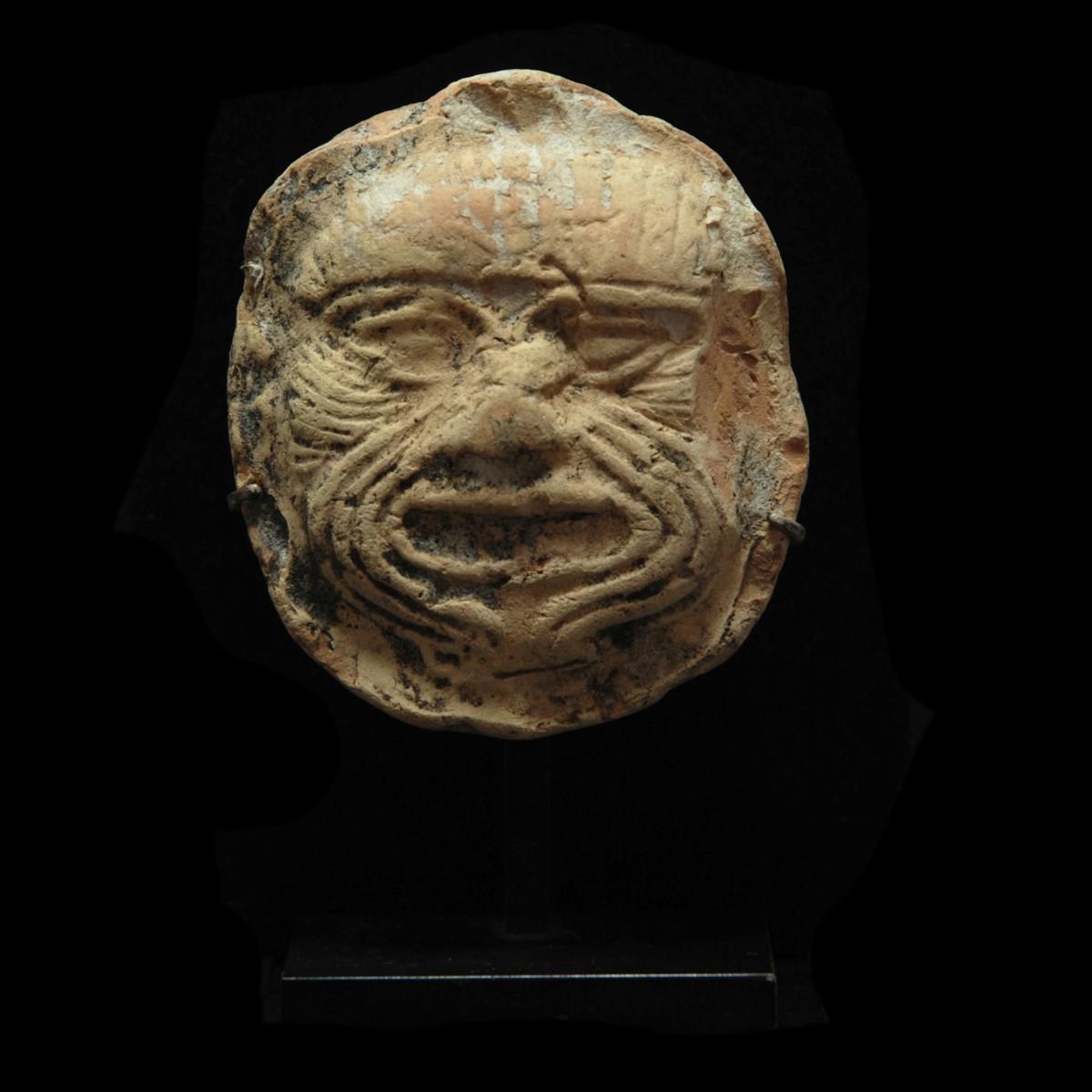 Terracotta plaque of Humbaba