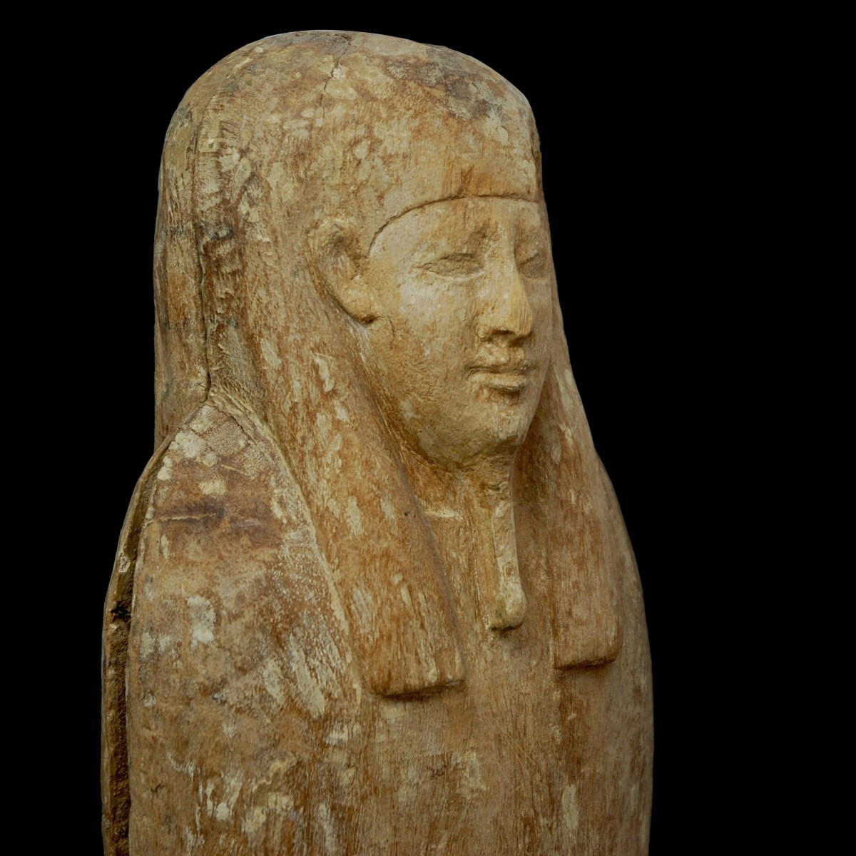Ptah-Sokar-Osiris two parts face