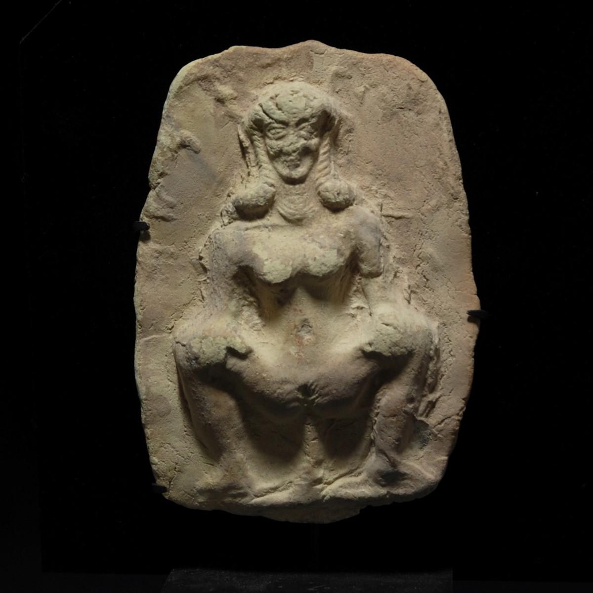 Sumerian terracotta plaque