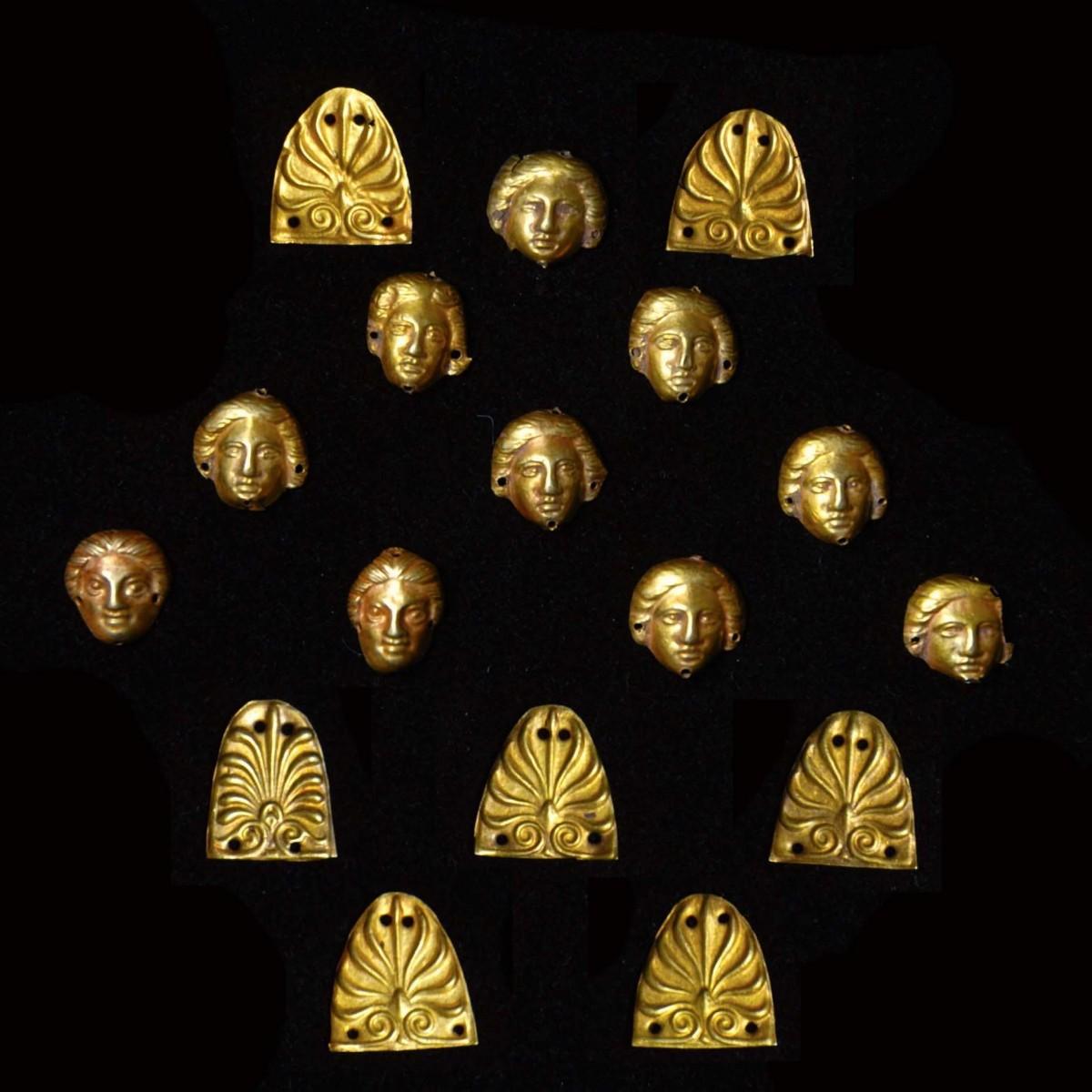 Classical Greek gold appliques II