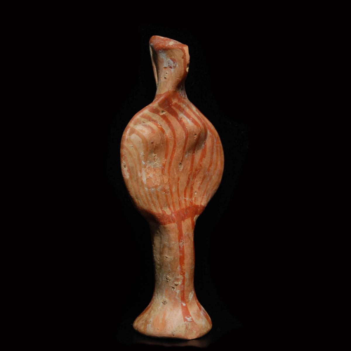 Mycenaean phi idol half right small