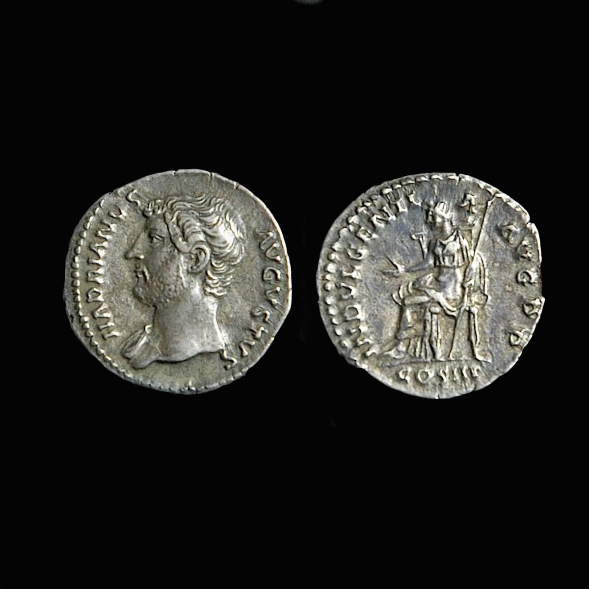 Hadrian Silver denar