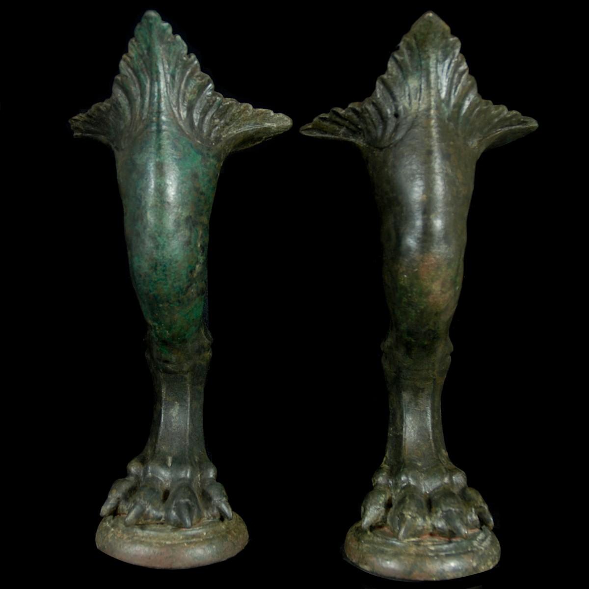Roman Bronze legs front